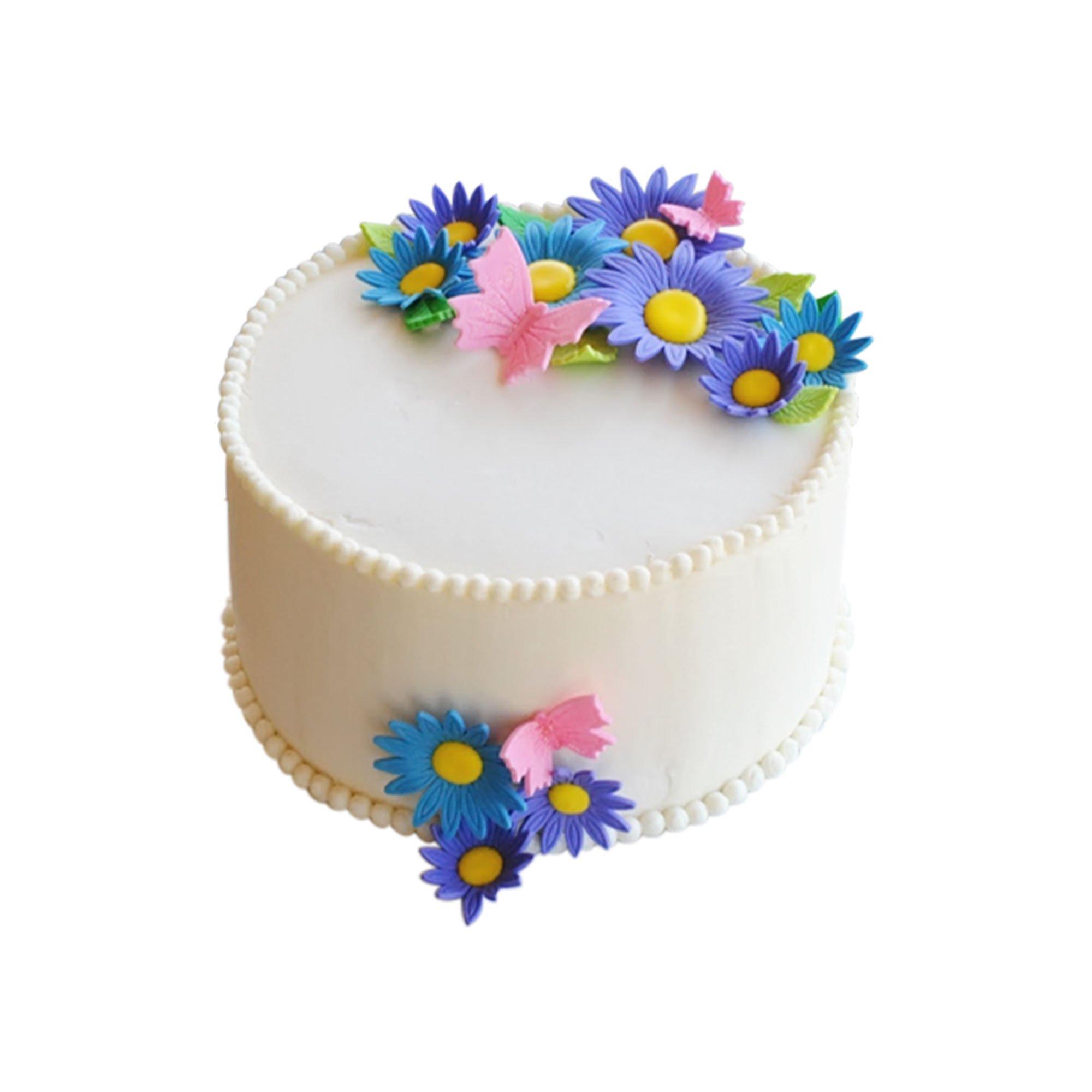 Simple Flower Cake Daybyday Lk